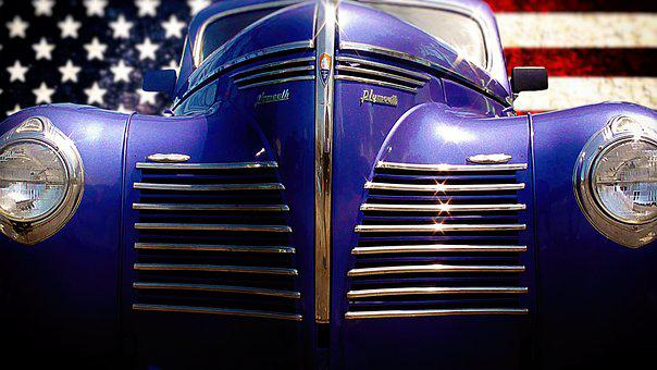 Auto, Oldtimer, Us Car, Plymouth, Classic