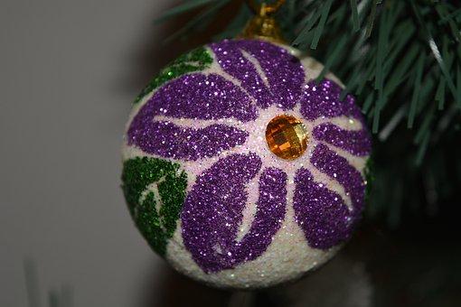 New Year's Eve, Christmas Tree, Ornament, Christmas