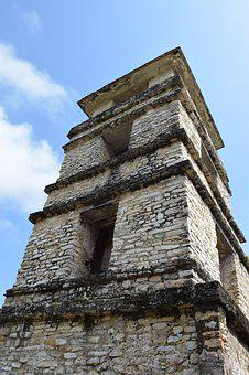 Palenque, Mexico, Temple, Palace, Mayan, History