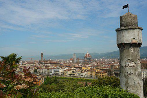 Italy, Architecture, Panorama, Tower