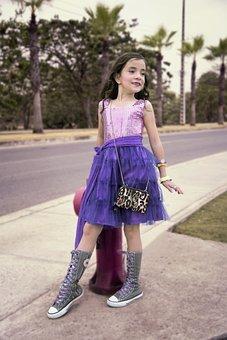 Model, Girl, Posing, Park, Fashion, Small