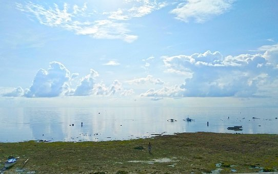 Beachfront, Seafront, Beach View, Sea, Blue, Sky, Shore