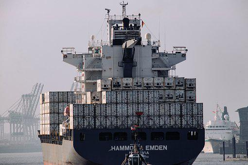 Container Ship, Frachtschiff, Freighter, Ship, Shipping