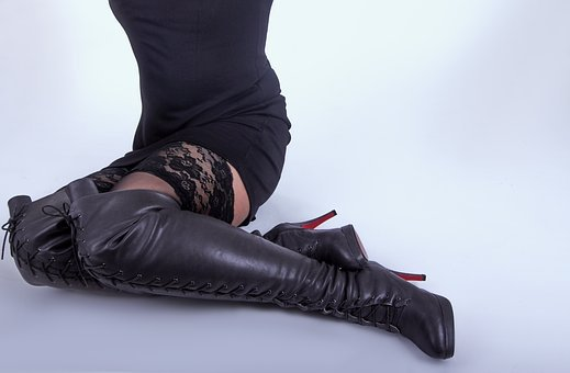 Boots, Woman, Over The Knee Boots, Legs, Female, Shoes