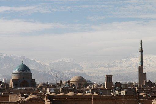Iran, Silk Road, Orient, Mountains, Snow, Landscape