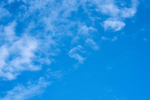 Cloud, Blue, Sky, Clouds, Nature, Color, Landscape