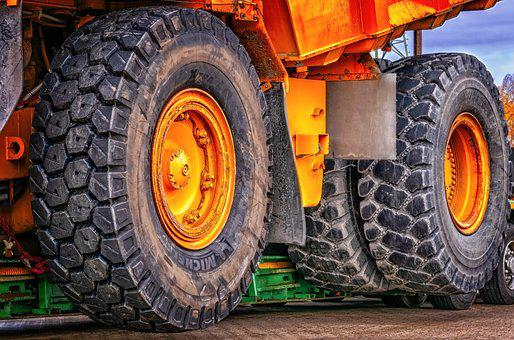 Wheel, Construction Machine, Dumper, Technology