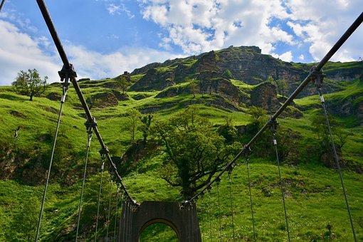 Bridge, The Suspension Bridge Of Holzarte