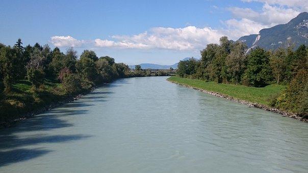 Rhône, River, Water, Europe, Travel, Bridge, Panorama