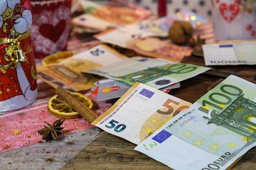 Christmas, Christmas Time, Advent, Money, Bank Note
