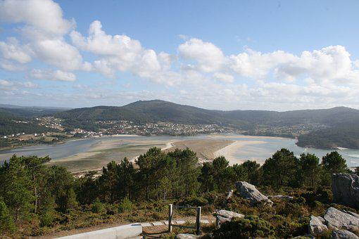 Ria, Anllons, Mount White, Ponteceso, Costa Da Morte