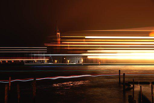 Italy, Venice, Atmosphere, Architecture, Ferry