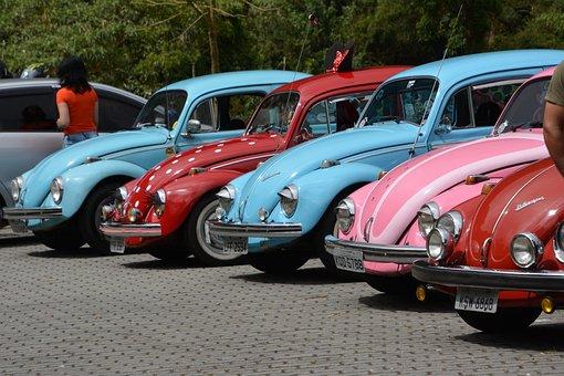 Car, Vw, Volkswagen, Retro, Beetle, Old, Vintage
