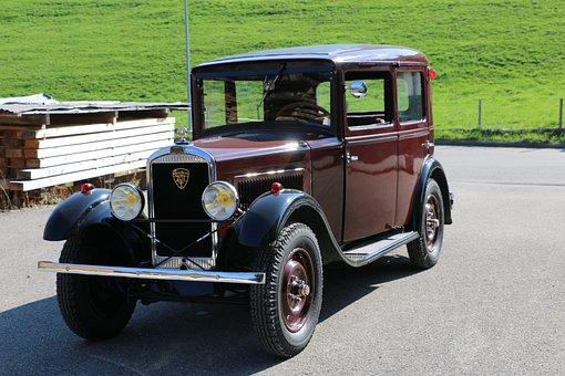Car, Peugeot, Oldtimer