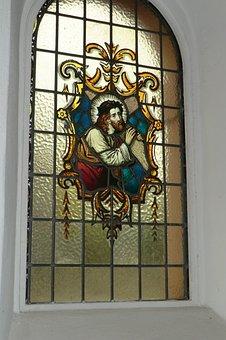 Stained Glass Window, Chapel, Löschemer Kapelle