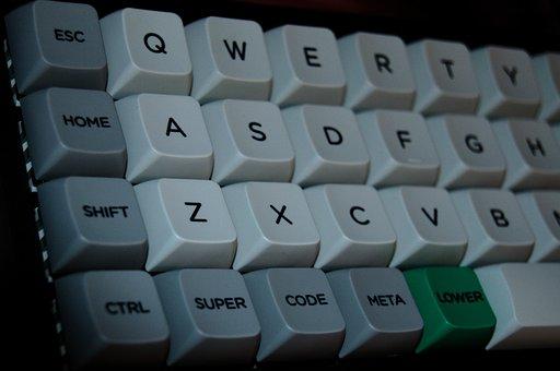 Mini, Keyboard, Code, Ortho-linear, Computer