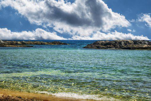 Beach, Sea, Sand, Sky, Costa, Clouds, Marina, Landscape