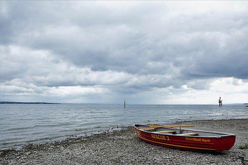 Boat, Lake, Lake Constance, Constance, Rescue, Summer