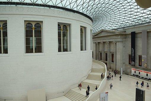 British, Museum, London, Bloomsbury, Great Britain, Uk