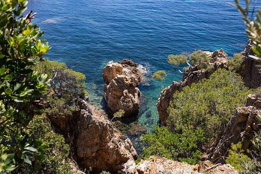 Creek, Sea, Mediterranean
