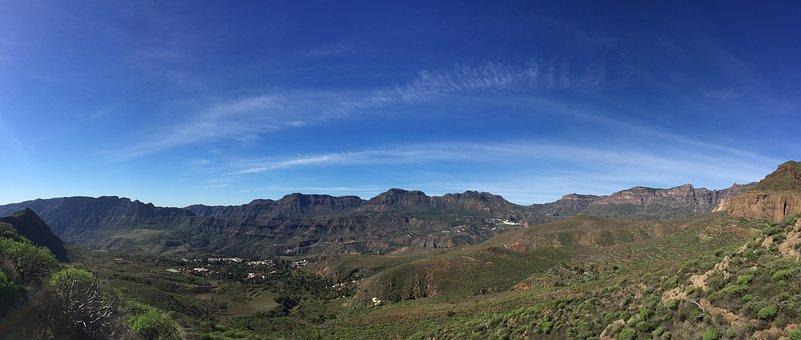 Santa Lucia, Gran Canaria, Canary Islands, Mountains