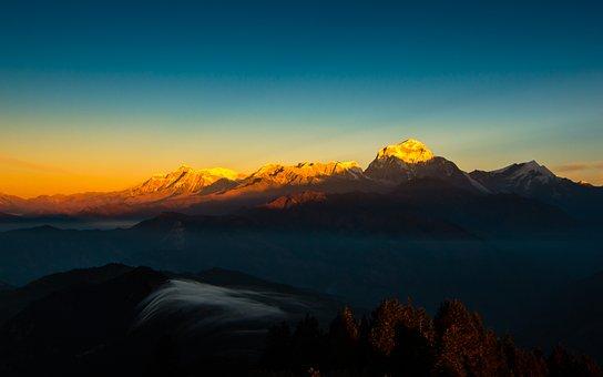 Mountain, Himalayas, Nepal, Himalaya, Landscape, Nature