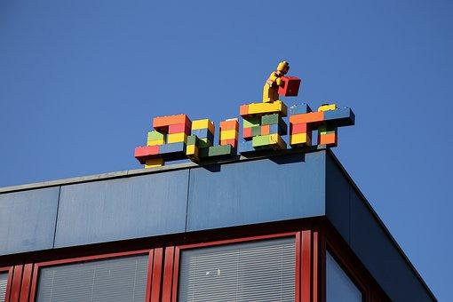 Hamburg, St, Pauli, Lego Blocks, Architecture