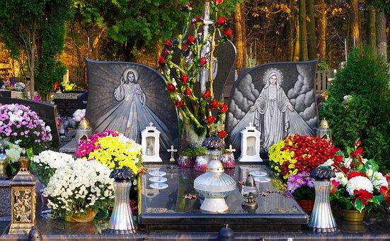 Cemetery, Religion, Faith, Death, Christianity