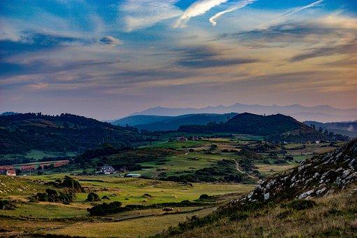 Spain, Cantabria, Oreña, Santillana Del Mar, Nature