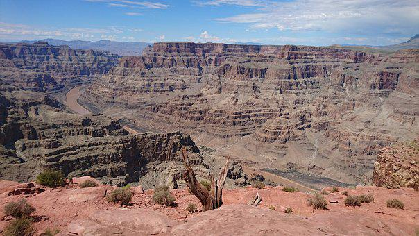 Grand Canyon, Rock, Landscape, Canyon, Usa, Scenic