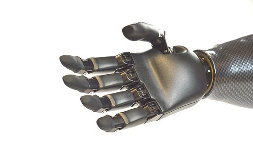 Hand Prosthesis, Robot, Humanoid, Hand, Science