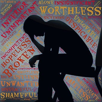 Depression, Voices, Self-criticism, Critic, Down