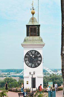 Clock Tower, Petrovaradin Fortress, Novi Sad, Srbija