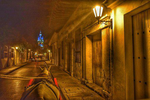 Ride, Night, Streets, Old, Evening, People