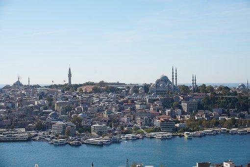 Istanbul, Estuary, Süleymaniye, Cami