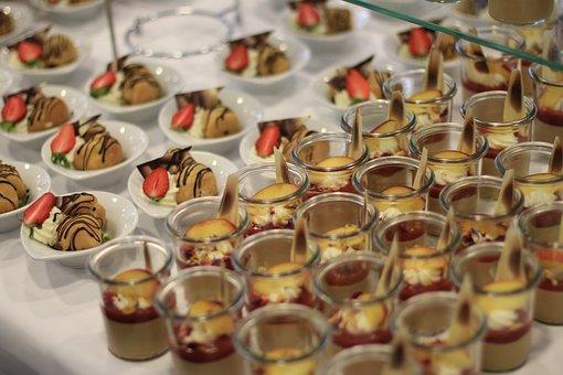 Dessert, Sweet Food, Sweet Dish, Food, Cream, Kitchen