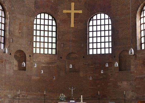 Basilica, Trier, Sanctuary, Spartan, Antique, Roman