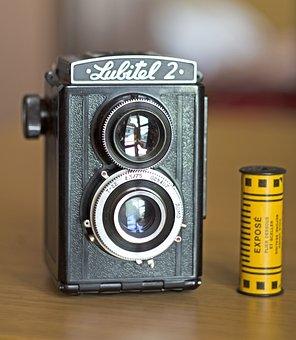 Lubitel 2, Vintage Camera, Twin Lens Reflex, Tlr