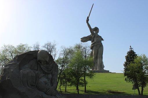 Volgograd, Monument, Sights, Mother Motherland