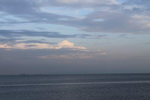 Marine, Landscape, Ocean, Beach, Water, Sunset, Nature