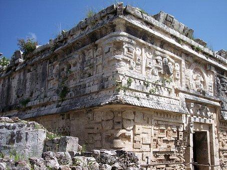 Ruin, Maya, Mayan, Ancient, Archaeological, Archaeology
