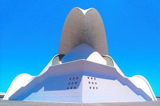 Auditorium, Tenerife, Engineer, Architecture, Building
