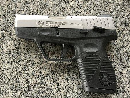 Gun, Armament, Taurus, Pistol