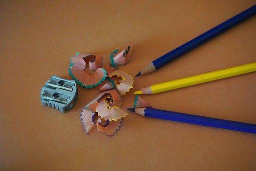 Colouring Pencils, Drawing, Art, Artist