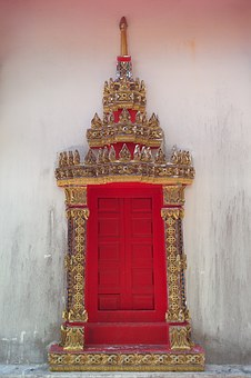 Thailand, Buddhism, Travel, Gold, Asia, Gilded
