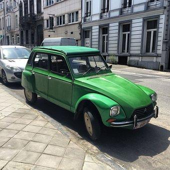 Car, Vintage, Retro, Citroen, French, Classic, Auto