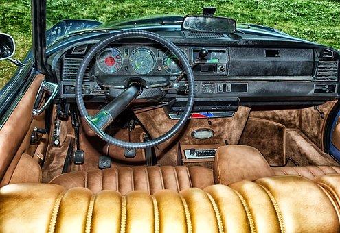 Citroen Ds, Car, Auto, Automobile, Vehicle, Interior