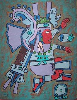 Xiuhtecuhtli, Aztec, Aztec Water God, Aztec God