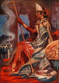 Aztec, Montezuma, King