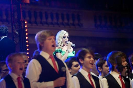 Katherine Jenkins, Singer, Welsh, Boys' Aloud Choir